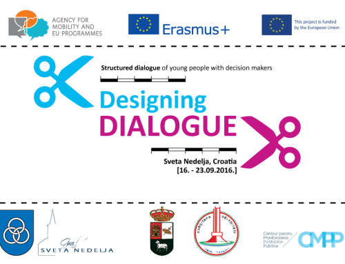 "Workshop Erasmus+ pe tema politicilor publice pentru tineret: ""Structured Dialogue of Young People with Decision Makers"" (Croația)"